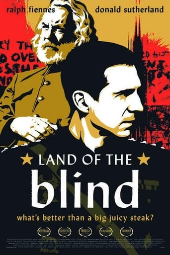 Land of the Blind poster