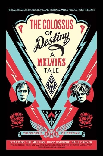 Poster of The Colossus of Destiny: A Melvins Tale