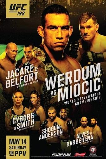 Poster of UFC 198: Werdum vs. Miocic