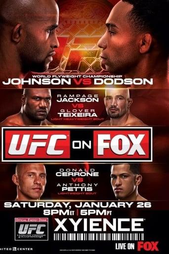 Poster of UFC on Fox 6: Johnson vs. Dodson