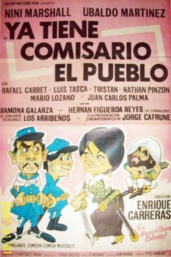 Poster of Ya tiene comisario el pueblo
