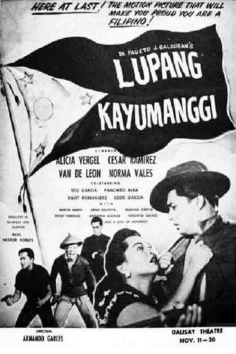 Poster of Lupang Kayumanggi