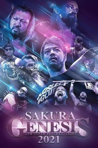 Poster of NJPW Sakura Genesis 2021