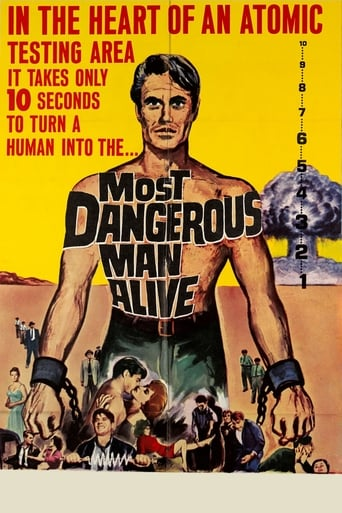Poster of Most Dangerous Man Alive