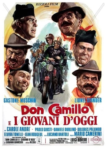 Poster of Don Camillo and the Contestants