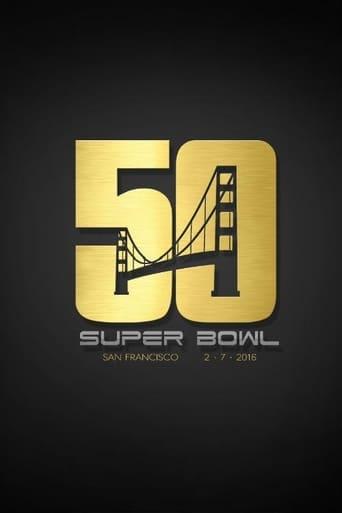 Poster of NFL Superbowl 50