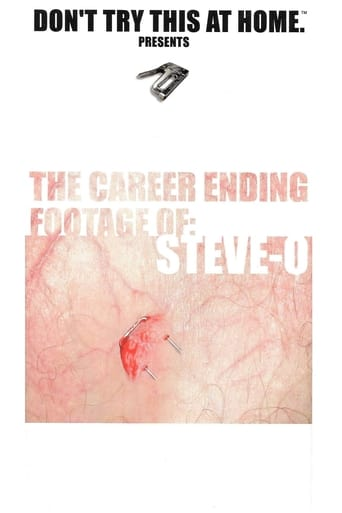 The Career Ending Footage of: Steve-O poster