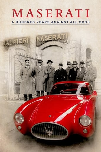 Poster of Maserati: A Hundred Years Against All Odds