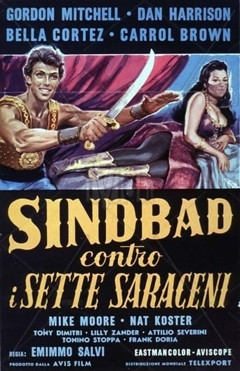 Poster of Ali Baba and the Seven Saracens