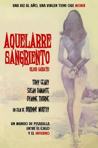 Poster of Aquelarre sangriento