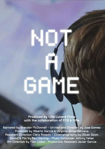 Poster of Not a Game