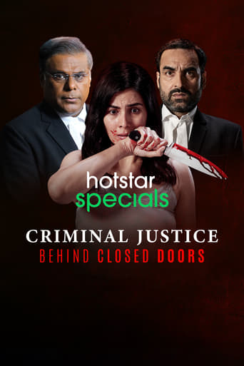 Poster of Criminal Justice: Behind Closed Doors