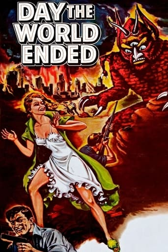 Poster of Day the World Ended