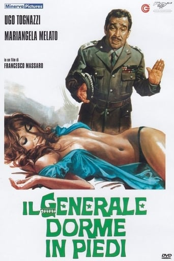 Poster of Il generale dorme in piedi