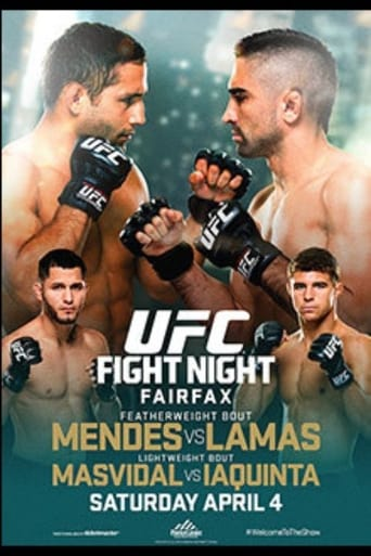 Poster of UFC Fight Night 63: Mendes vs. Lamas