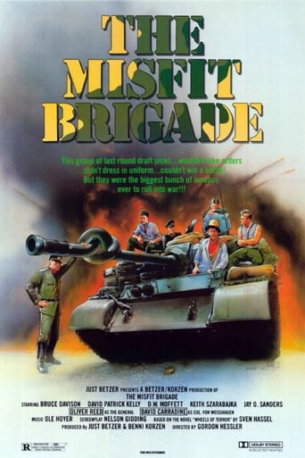 Poster of The Misfit Brigade