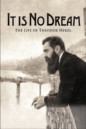 Poster of It Is No Dream: The Life Of Theodor Herzl