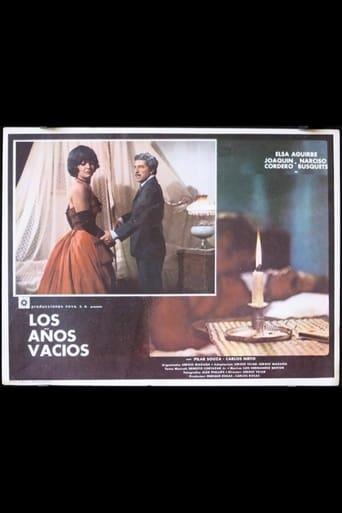 Poster of Los años vacios