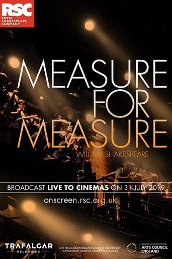 Poster of RSC Live: Measure for Measure