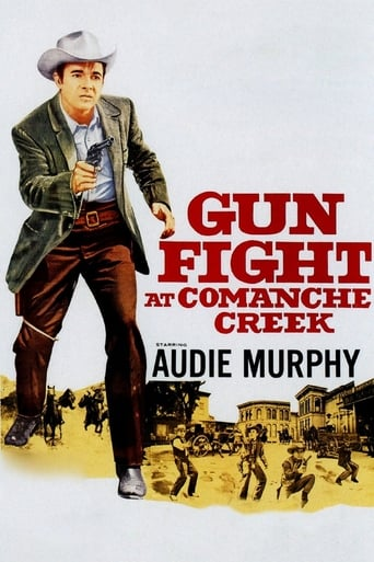 Poster of Gunfight at Comanche Creek