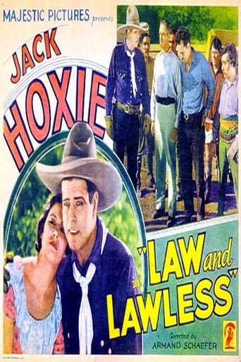 Poster of Law and Lawless