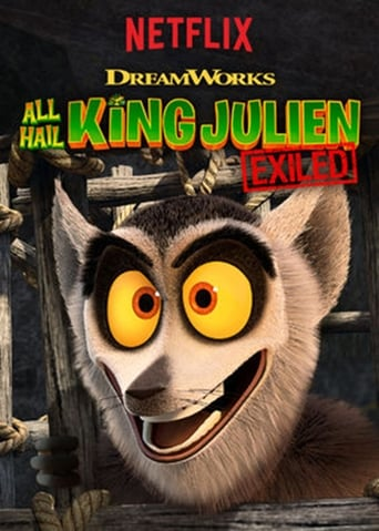 Poster of All Hail King Julien: Exiled