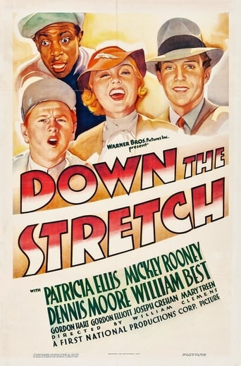 Poster of Down the Stretch