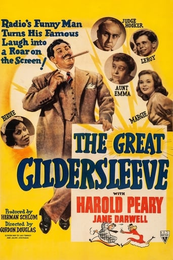 Poster of The Great Gildersleeve