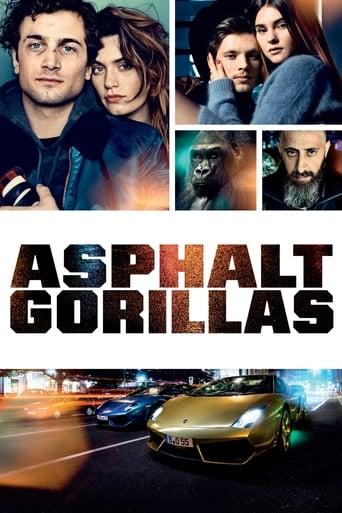 Filmplakat von Asphaltgorillas