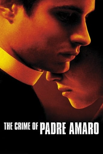 The Crime of Padre Amaro poster