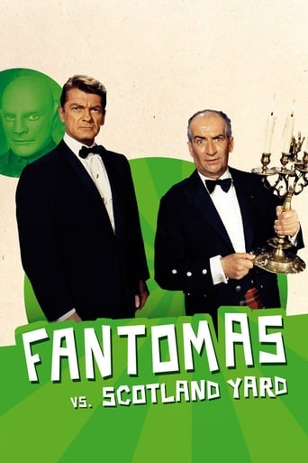 Poster of Fantomas vs. Scotland Yard