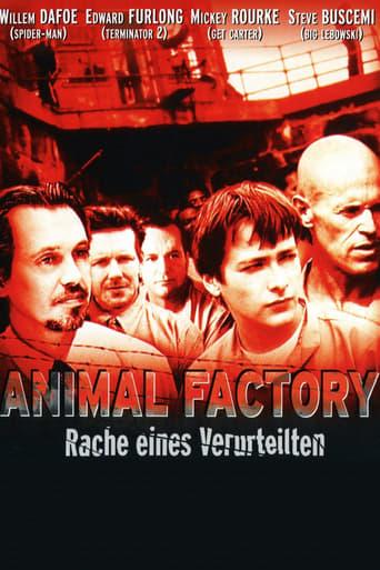 Filmposter von Animal Factory - Rache eines Verurteilten