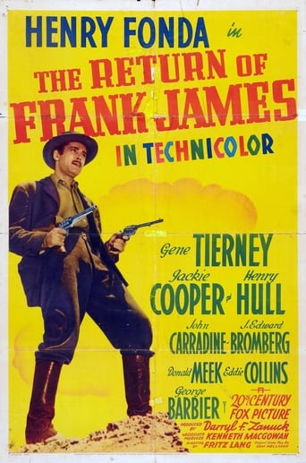 Poster of The Return of Frank James