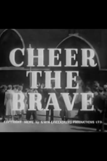 Poster of Cheer the Brave