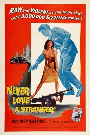 Poster of Never Love a Stranger