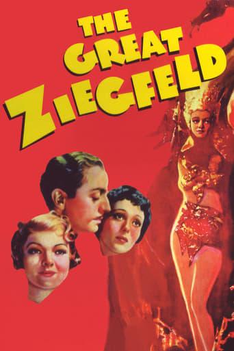 Filmplakat von Der große Ziegfeld