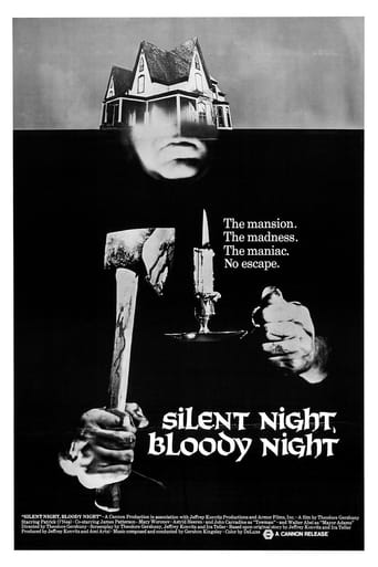 Poster of Silent Night, Bloody Night