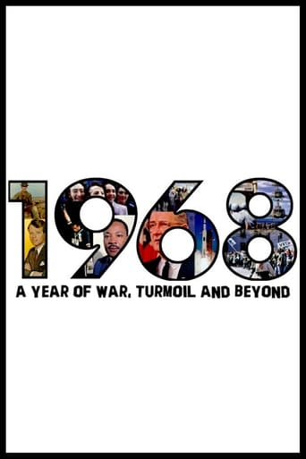 Poster of 1968: A Year of War, Turmoil and Beyond