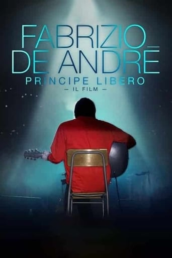 Poster of Fabrizio De André: Principe libero