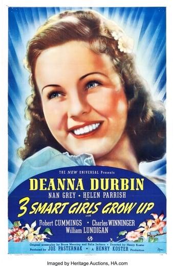 Poster of Three Smart Girls Grow Up