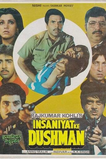 Poster of Insaniyat Ke Dushman
