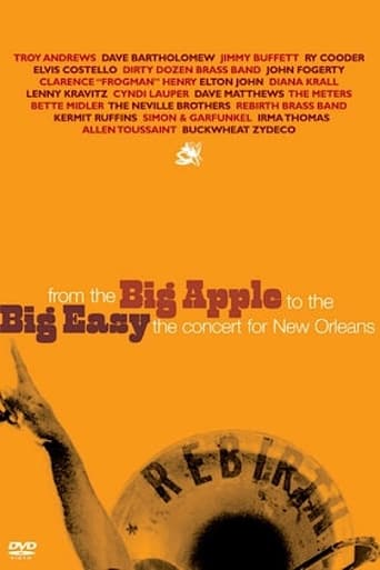 From the Big Apple to the Big Easy: The Concert for New Orleans poster