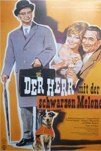 Poster of Der Herr mit der schwarzen Melone