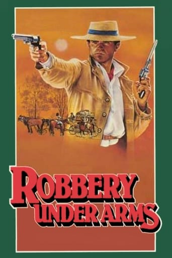 Poster of Robbery Under Arms