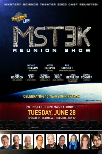 Poster of MST3K Reunion Show