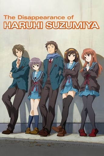 Poster of The Disappearance of Haruhi Suzumiya