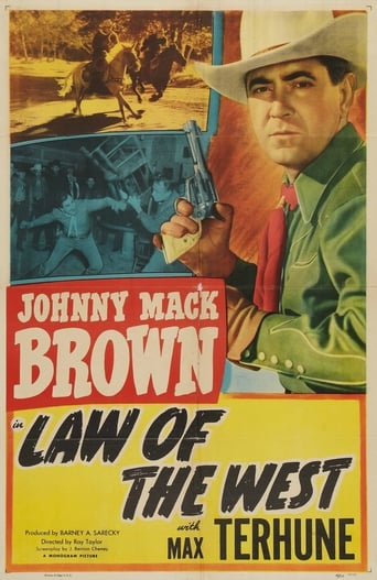 Poster of Law of the West