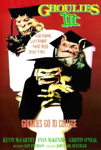 Poster of Ghoulies III: Ghoulies Go to College