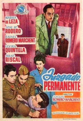 Poster of Juzgado permanente