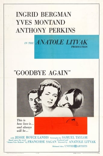 Poster of Goodbye Again